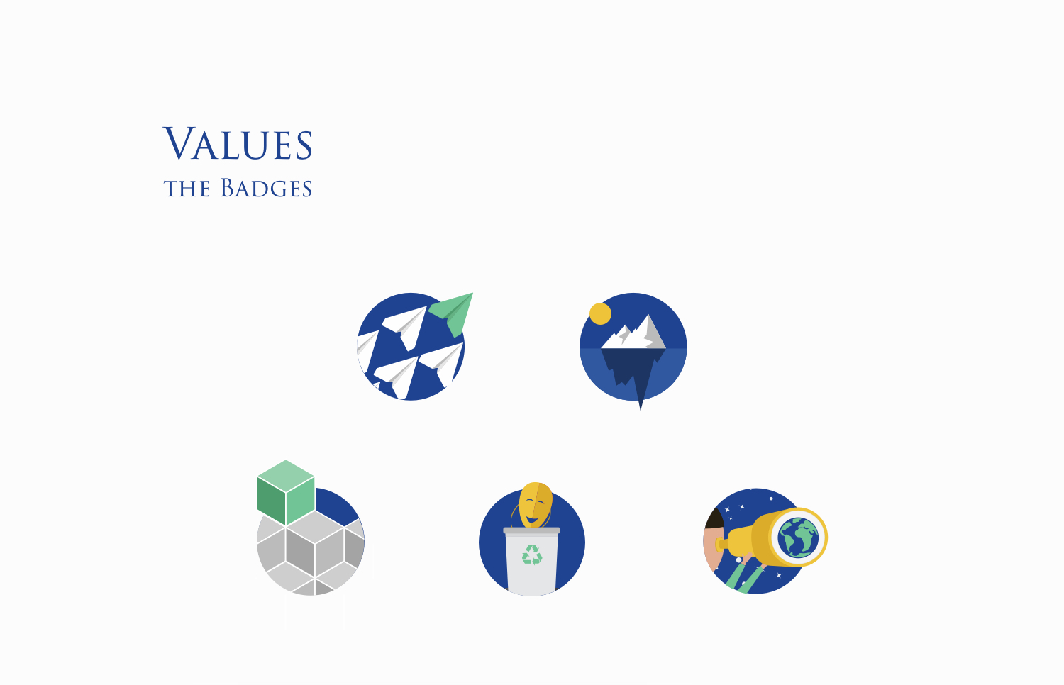 Values and Badges