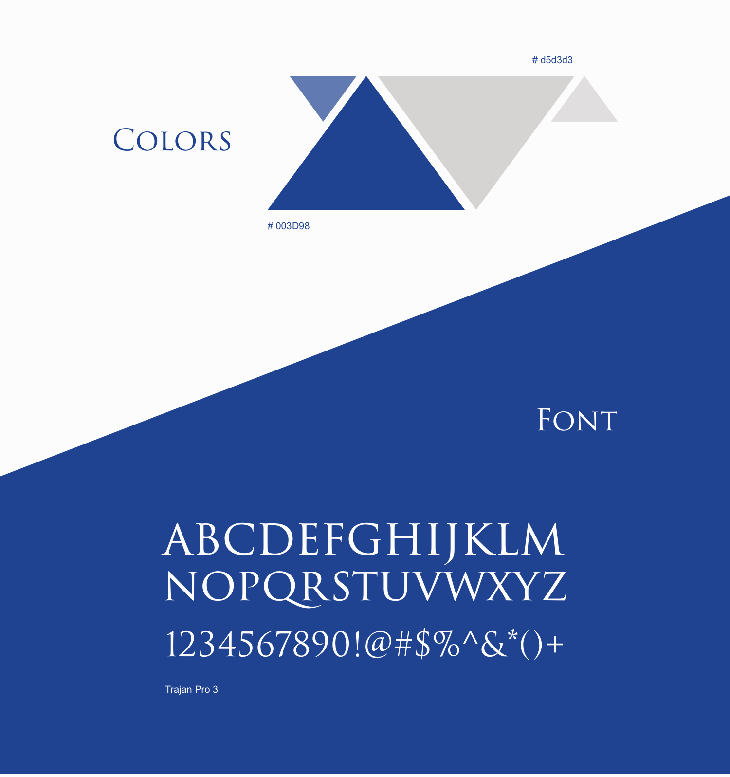 Colors and Font