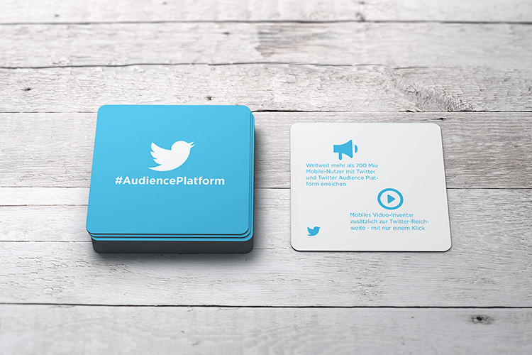 Coasters for Twitter